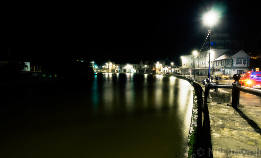 BBC published image of the River Neet flooding at Bude
