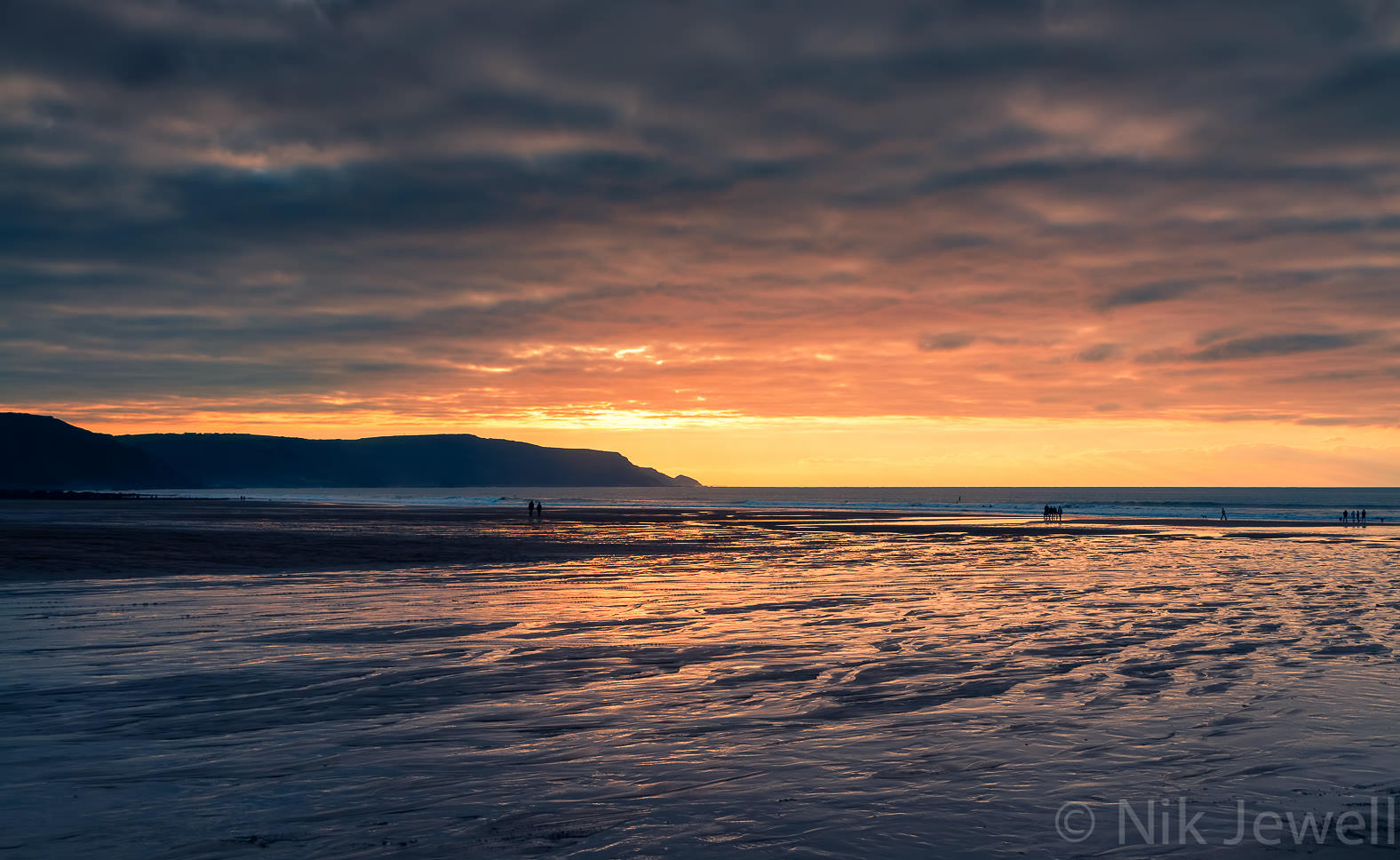 After-Sunset, Widemouth Bay: