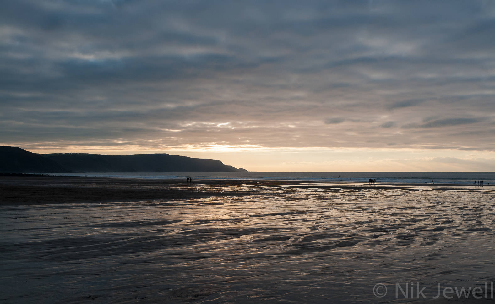 Before-Sunset, Widemouth Bay: