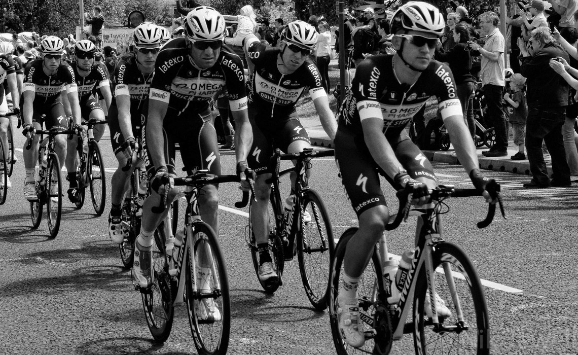 TdeF 03: Ilkley, Team Omega Pharma - Quick-Step