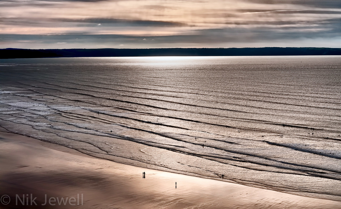 Image of the beach at Saunton Sands