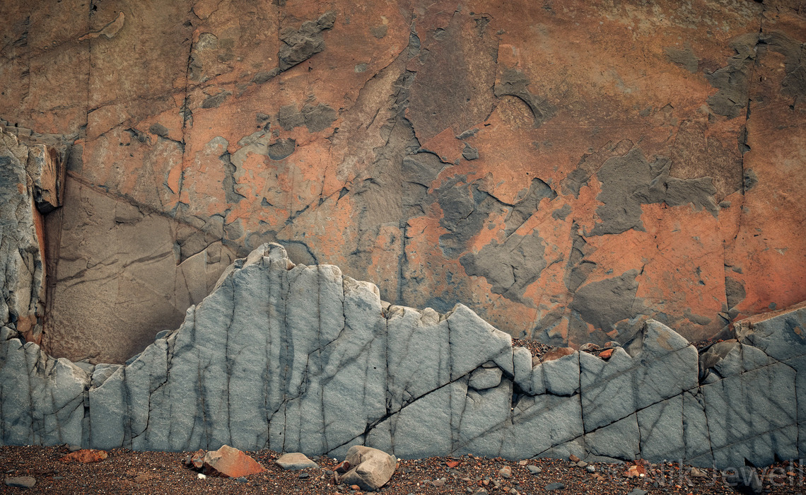 Image of interesting rock architecture at Northcott Mouth near Bude