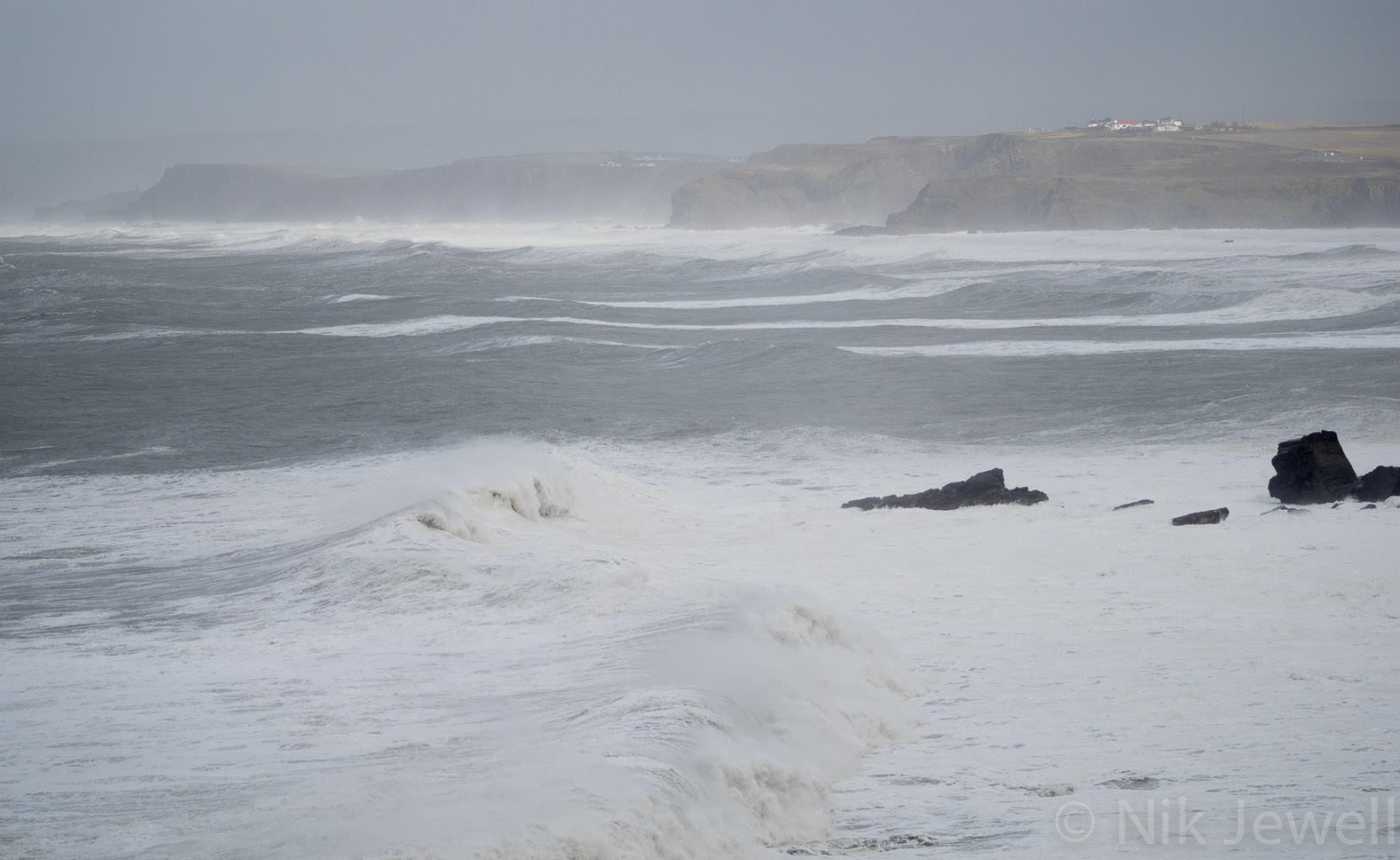 Before-Swell, Millook Haven