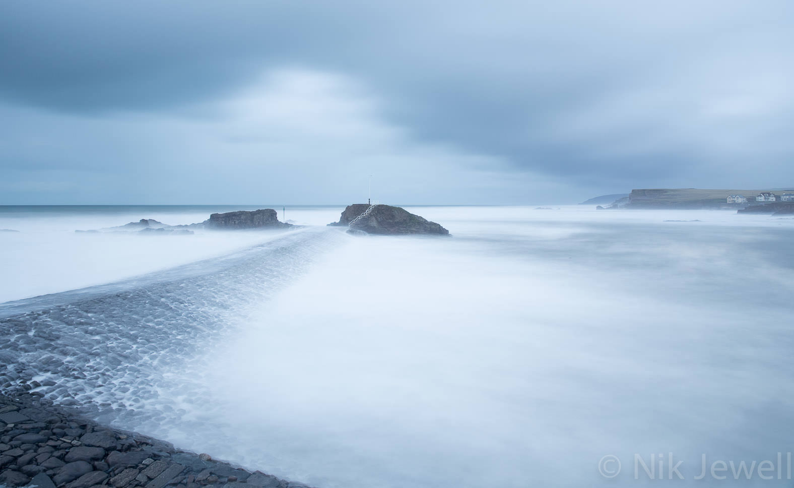 Before-Mean and Moody, Bude Breakwater
